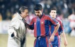 Johan Cruyff and Pep Guardiola