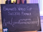 Stephen Hawking's World Cup Success Formula for England