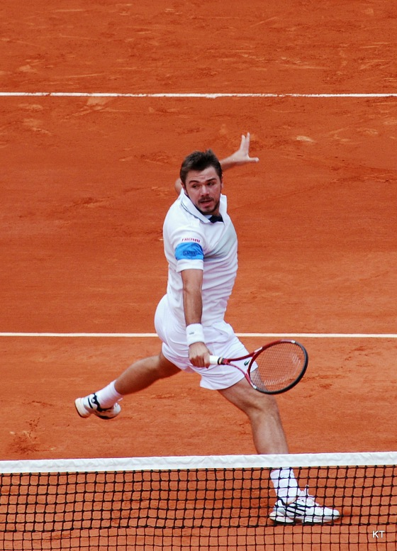 Wawrinka's backhand is his most potent weapon. Photo Credit: Carine06 Flickr.com